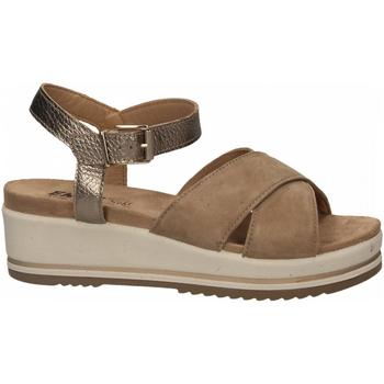 Topánky Ženy Sandále Enval D SN 52934 beige-scuro