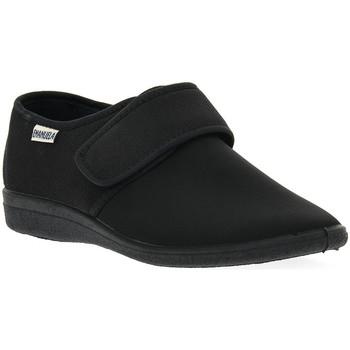 Topánky Muži Papuče Emanuela 986 NERO PANTOFOLA Nero