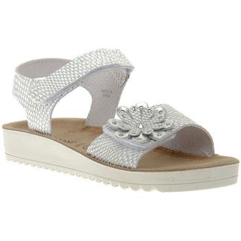 Topánky Dievčatá Sandále Grunland BIANCO 70GRIS Rosa