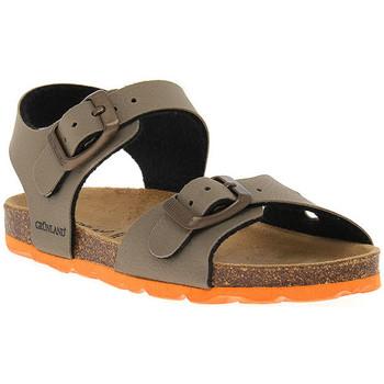 Topánky Chlapci Sandále Grunland TORTORA 40ARIA Beige