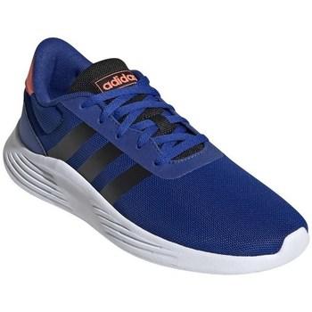 Topánky Chlapci Bežecká a trailová obuv adidas Originals Lite Racer Biela, Modrá, Oranžová
