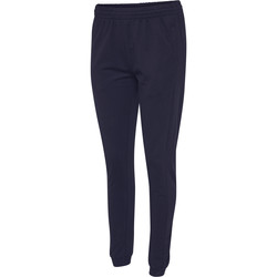 Oblečenie Ženy Tepláky a vrchné oblečenie Hummel Pantalon femme  hmlgo cotton bleu marine