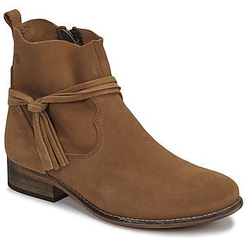Topánky Ženy Polokozačky Betty London NENESS Ťavia hnedá