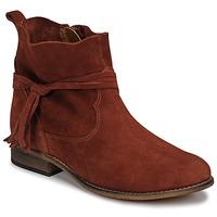 Topánky Ženy Polokozačky Betty London NENESS Červená tehlová