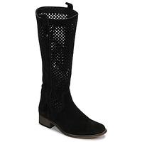 Topánky Ženy Čižmy do mesta Betty London DIVOUI Čierna