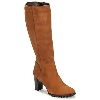 Topánky Ženy Čižmy do mesta Betty London NOEME Ťavia hnedá