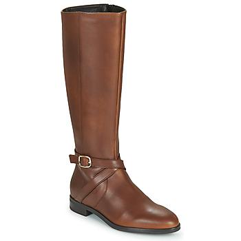 Topánky Ženy Čižmy do mesta Betty London NILOU Ťavia hnedá