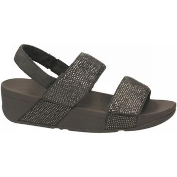 Topánky Ženy Sandále FitFlop MINA CRYSTAL BACK STRAP pewter