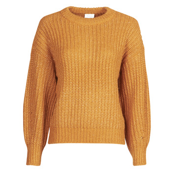Oblečenie Ženy Svetre Vila VISUBA Oranžová