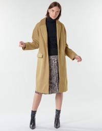 Oblečenie Ženy Kabáty Vila VICALLEE Ťavia hnedá