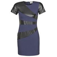 Oblečenie Ženy Krátke šaty Moony Mood JOULOU Námornícka modrá