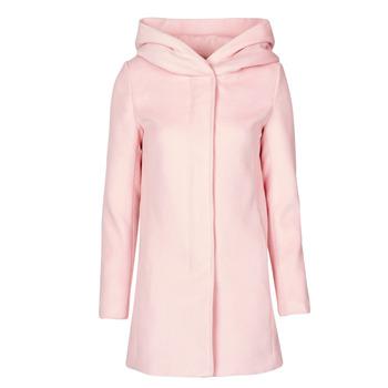 Oblečenie Ženy Kabáty Moony Mood NANTE Ružová