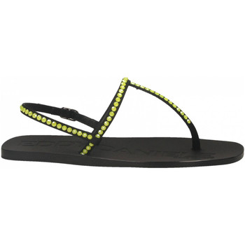 Topánky Ženy Sandále Eddy Daniele ROMINA RASO nero-giallo