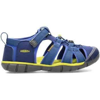 Topánky Deti Sandále Keen Seacamp II Cnx Modrá, Olivová, Grafit