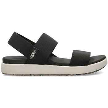 Topánky Ženy Sandále Keen Elle Backstrap Čierna, Sivá