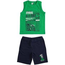 Oblečenie Chlapci Komplety a súpravy Ido 4J019 Verde/blu