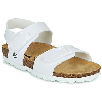 Topánky Dievčatá Sandále Citrouille et Compagnie BELLI JOE Biela