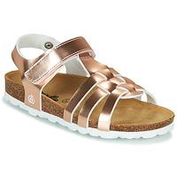 Topánky Dievčatá Sandále Citrouille et Compagnie MALIA Ružová