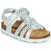 Topánky Dievčatá Sandále Citrouille et Compagnie MALIA Biela