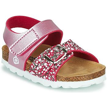 Topánky Dievčatá Sandále Citrouille et Compagnie MIRTINO Ružová