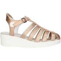 Topánky Ženy Sandále Agile By Ruco Line 210ASATSLIDE Pink