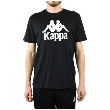 Oblečenie Muži Tričká s krátkym rukávom Kappa Caspar Tshirt Čierna