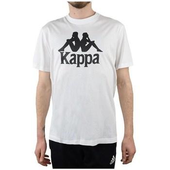 Oblečenie Muži Tričká s krátkym rukávom Kappa Caspar Tshirt Biela