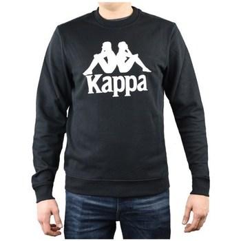 Oblečenie Muži Mikiny Kappa Sertum RN Sweatshirt Čierna