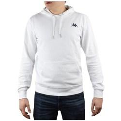 Oblečenie Muži Mikiny Kappa Vend Hooded Biela