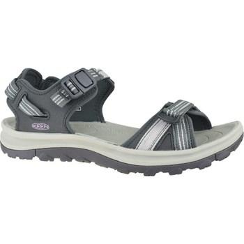Topánky Ženy Športové sandále Keen Wms Terradora II Open Toe Sivá