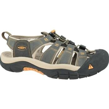 Topánky Muži Sandále Keen Newport H2 Grafit,Sivá,Béžová