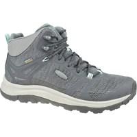 Topánky Ženy Turistická obuv Keen W Terradora II Mid WP Sivá