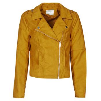Oblečenie Ženy Kožené bundy a syntetické bundy JDY JDYNEW PEACH Žltá horčicová