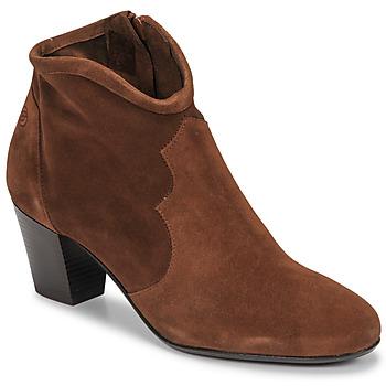 Topánky Ženy Čižmičky Betty London NORIANE Ťavia hnedá / Velvet