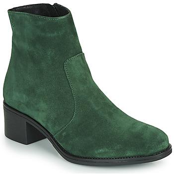 Topánky Ženy Čižmičky Betty London NOUME Zelená