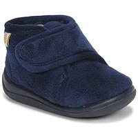 Topánky Chlapci Papuče Citrouille et Compagnie HALI Námornícka modrá