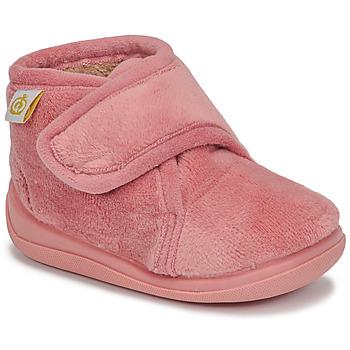 Topánky Dievčatá Papuče Citrouille et Compagnie HALI Old / Ružová