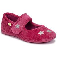 Topánky Dievčatá Papuče Citrouille et Compagnie LANINOU Bordová