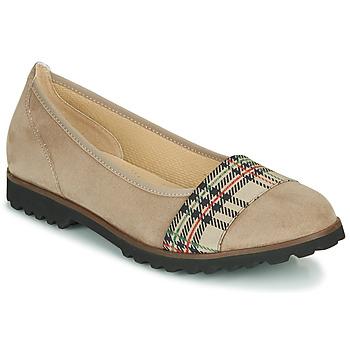 Topánky Ženy Balerínky a babies Gabor 5410642 Béžová