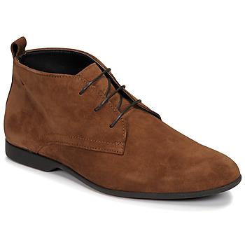 Topánky Muži Polokozačky Carlington EONARD Hnedá
