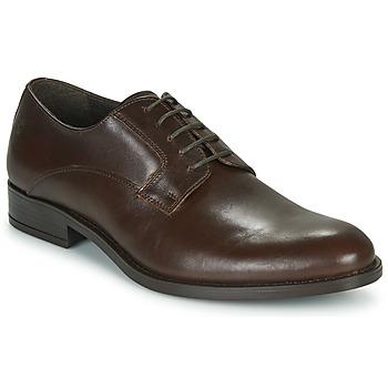 Topánky Muži Derbie Carlington NOCOLA Hnedá