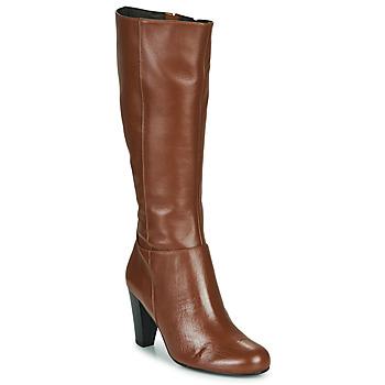 Topánky Ženy Čižmy do mesta So Size ARDEIN Hnedá