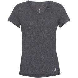 Oblečenie Ženy Tričká s krátkym rukávom Odlo T-shirt femme  Lou Linencool gris