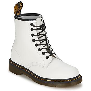 Topánky Polokozačky Dr Martens 1460 Biela