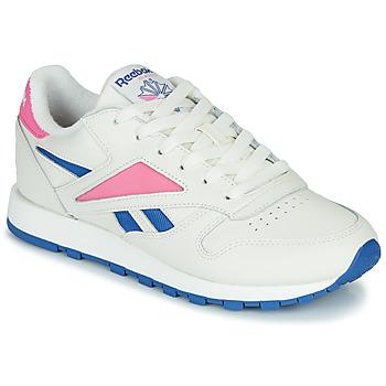 Topánky Nízke tenisky Reebok Classic CL LEATHER MARK Biela / Ružová