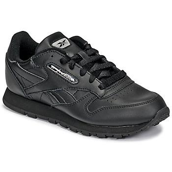 Topánky Deti Nízke tenisky Reebok Classic CLASSIC LEATHER Čierna