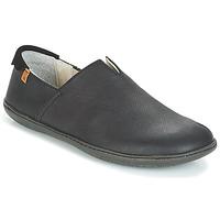 Topánky Slip-on El Naturalista EL VIAJERO Čierna