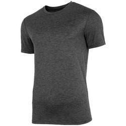 Oblečenie Muži Tričká s krátkym rukávom 4F NOSH4TSMF00390M Grafit