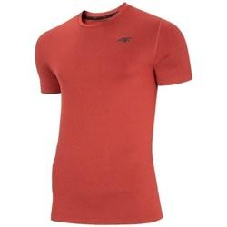 Oblečenie Muži Tričká s krátkym rukávom 4F NOSH4TSMF00362M Červená