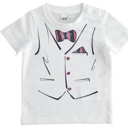 Oblečenie Chlapci Tričká s krátkym rukávom Ido 4J692 Bianco